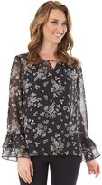 Apt. 9 Women's Floral Tiered Top