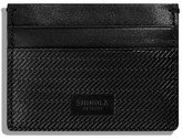 Shinola Men's Leather Card Case - Black