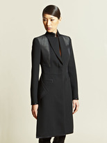 Givenchy Women's Contrast Panel Coat