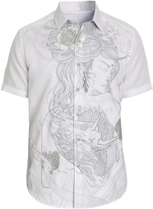 Robert Graham Classic-Fit Eastern Beauty Short-Sleeve Shirt