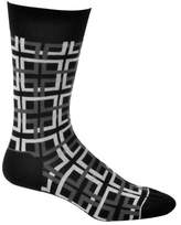 Ozone Men's Interlocking Squares Sock
