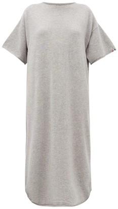 Extreme Cashmere - No. 44 Stretch-cashmere T-shirt Dress - Grey