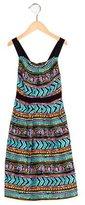Milly Minis Girls' Tribal Print Sleeveless Dress