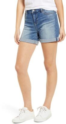 Liverpool Vickie Roll Cuff Denim Shorts