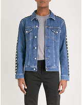 Kappa Kontroll Side-stripe Denim Jacket