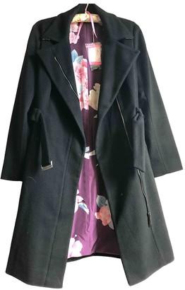 Leonard Black Cashmere Coats