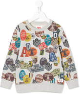 American Outfitters Kids embroidered patch sweater