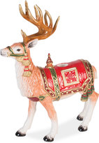 Fitz & Floyd Holiday Tidings Standing Deer Candleholder