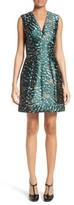 Yigal Azrouel Women's Cheetah Print A-Line Dress
