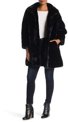 Love Token Faux Fur Coat