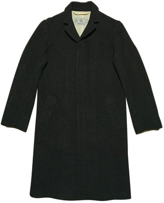 Tsumori Chisato Black Wool Coat for Women