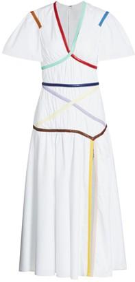 Rosie Assoulin Crisscross Applesauce Dress