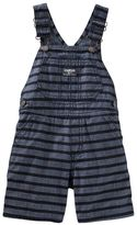 Osh Kosh Baby Boy Striped Chambray Shortalls
