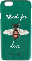 Gucci Blind for Love iPhone 6 case - women - Leather/plastic - One Size