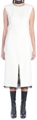 Alexander McQueen Lace Detail Shift Dress