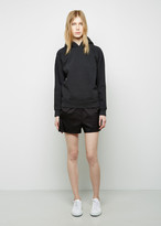 Alexander Wang Silk Twill Ripstop Shorts