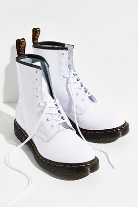 Dr. Martens 1460 Patent Croc Emboss Boots