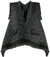 Sacai knitted gilet