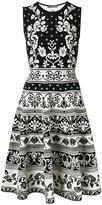 Alexander McQueen floral jacquard dress - women - Polyamide/Polyester/Spandex/Elastane/Viscose - M