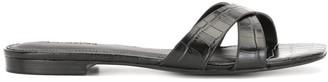 Reformation Margaret crossover flat sandals