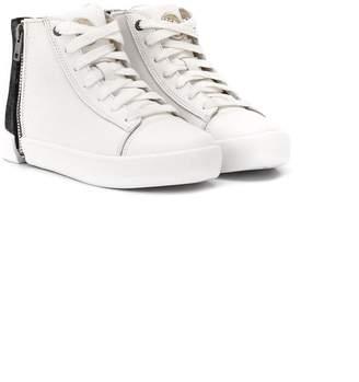 Diesel side zipped fastening sneakers
