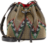 Les Petits Joueurs Daliah Geometry Bucket Bag