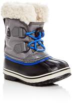 Sorel Boys' Yoot Pac Nylon Cold Weather Boots - Toddler, Little Kid