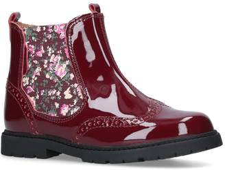 Start Rite Patent Chelsea Boots