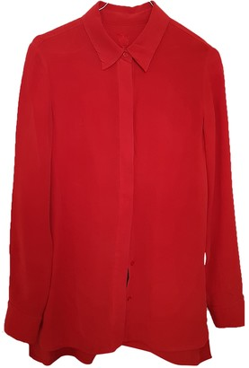 Georges Rech Red Silk Top for Women