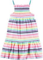 Carter's Sleeveless Striped Dress - Toddler Girls 2t-5t