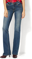 New York & Co. Soho Jeans - Instantly Slimming - Curvy Bootcut - Parade Blue Wash - Petite