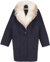 Pologeorgis The Carla Navy Fur Coat