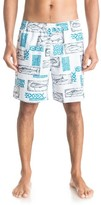 Quiksilver Men's Waterman Collection Hopuaina Swim Trunks
