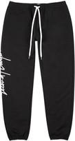 Second/layer Black Logo-print Cotton Jogging Trousers
