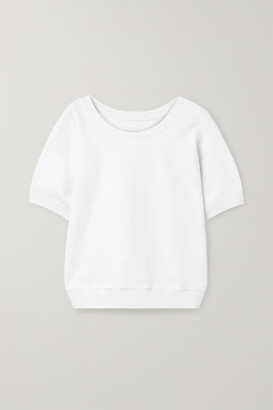 Nili Lotan Ciara Cotton-jersey Top - White