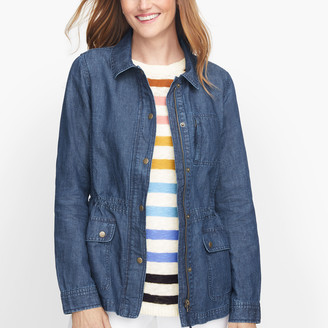 Talbots Safari Jacket - Denim