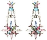 Dannijo Jamilah Crystal Statement Earrings