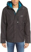 Helly Hansen Men's 'Squamish' 3-In-1 Water Repellant Hooded Jacket