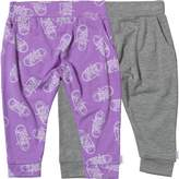 Converse Baby Girls Two Pack Hanging Jogger Set Fuchsia Glow