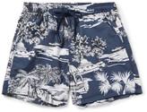 Etro Slim-Fit Short-Length Printed Swim Shorts