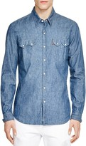 Levi's 1955 Sawtooth Selvedge Denim Slim Fit Snap Front Shirt