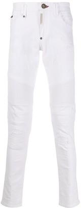 Philipp Plein Biker Jeans
