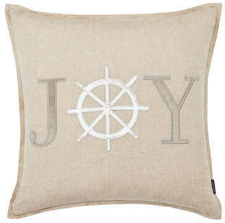 Nautica Joy Applique Square Pillow Bedding