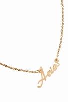 Rebecca Minkoff Aries Zodiac Necklace in Gold