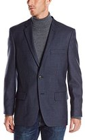 Haggar Men's Puppy Tooth Lambswool Sport Coat