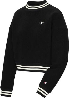 Champion Women's Stripe Trim Fleece Pullover