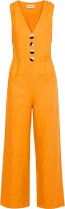 Nicholas Button-detailed Linen Jumpsuit