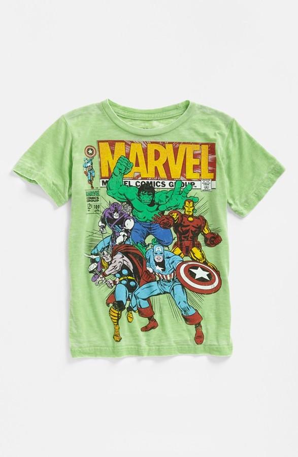 JEM 'The AvengersTM Group' T-Shirt (Little Boys)
