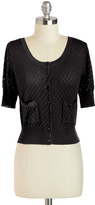 Sweet the Day Cardigan in Black