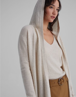 Club Monaco Hooded Cashmere Cardigan